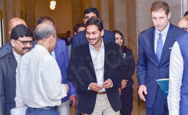 AP CM YS Jagan Mohan Reddy America Tour Ends - Sakshi