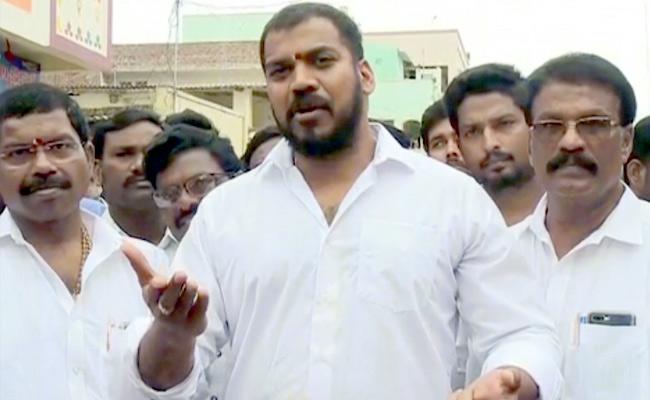 Minister Anil Kumar Fires On Chandrababu - Sakshi