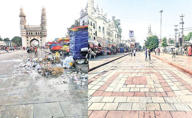 Granite Works in Charminar Places Hyderabad - Sakshi