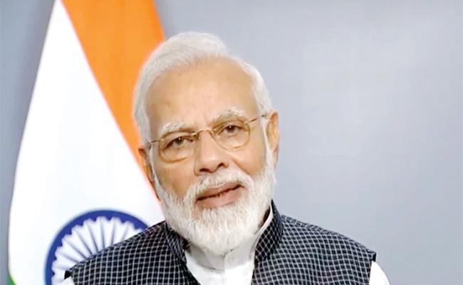 Narendra Modi Gulf Tour From Today - Sakshi