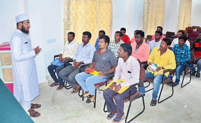 Awareness And Training For Gulf Labourers And Employees - Sakshi