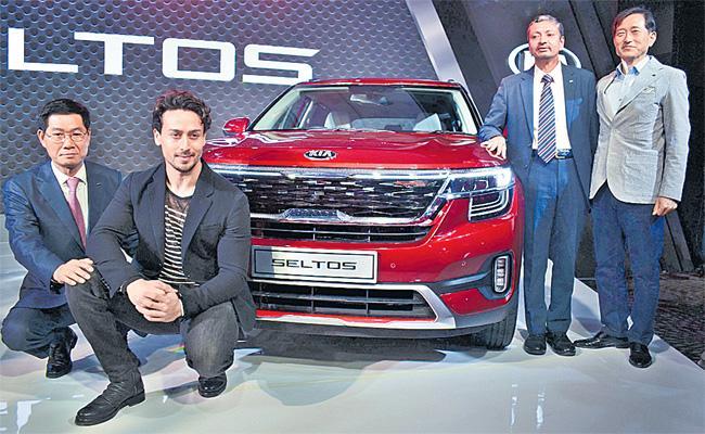 KIA Motors Launch KIA Seltos SUV - Sakshi