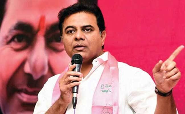 TRS Working President KTR Fires On BJP - Sakshi
