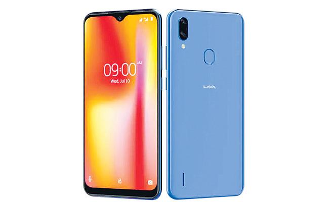 Lava Launch Z93 Smart Phone - Sakshi