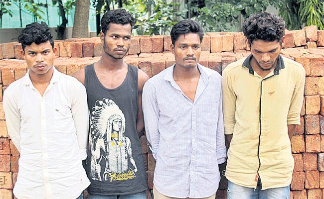 Remand in Molestation Case Hyderabad - Sakshi
