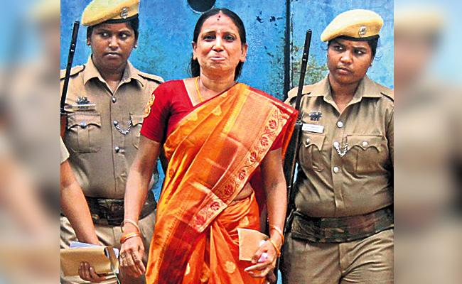 Nalini Released in Parole For Her Daughter Marriage - Sakshi