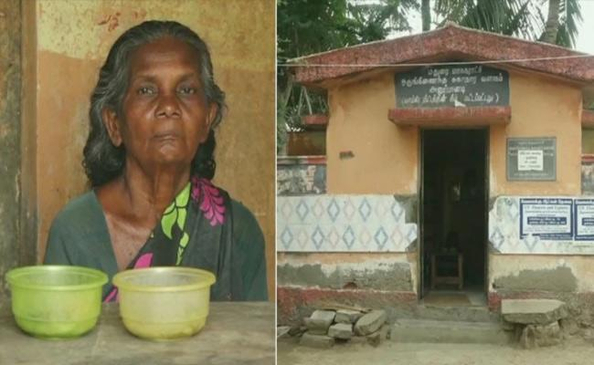 Madurai Woman Lives in Public Toilet for Many Years - Sakshi