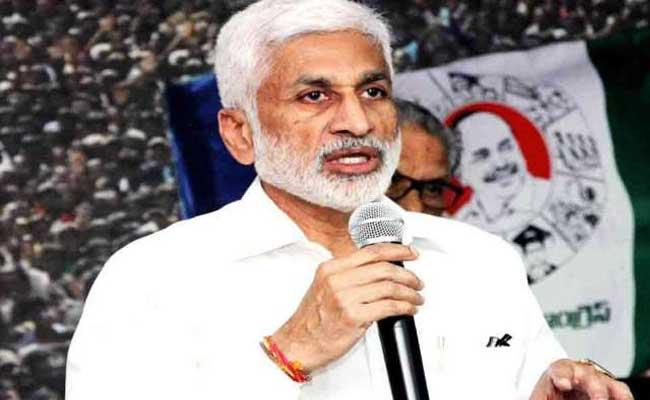 YSRCP MP Vijayasai Reddy Tweets On Chandrababu - Sakshi