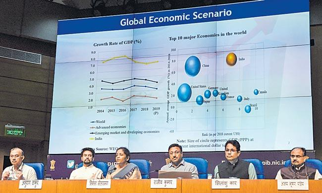 Nirmala Sitharaman announces multiple changes to boost growth - Sakshi