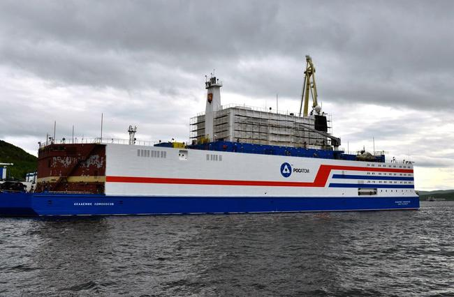 Russia Launches Floating Nuclear Reactor - Sakshi
