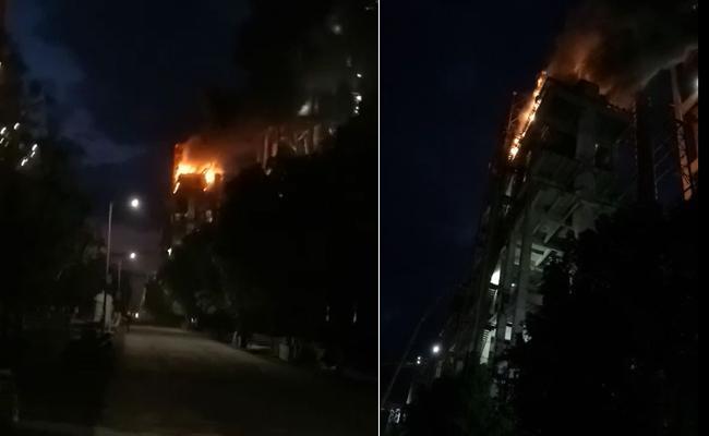 Five Injured in Blast At Penna Cement Factory  - Sakshi