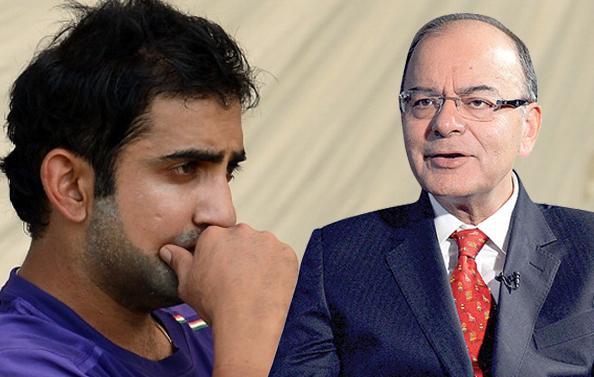 Gautam Gambhir Pays His Respects To Arun Jaitley In A Heartfelt Post - Sakshi
