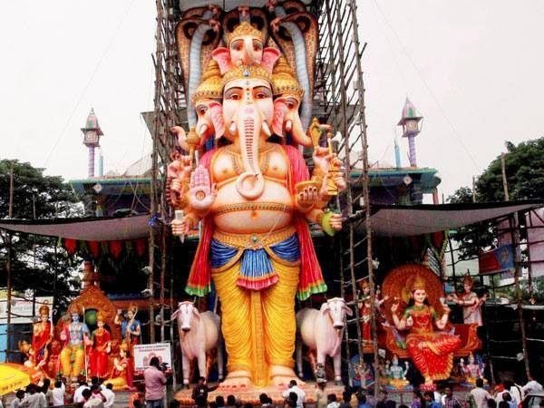 Huge arrangements for Lord Ganesh festival - Sakshi
