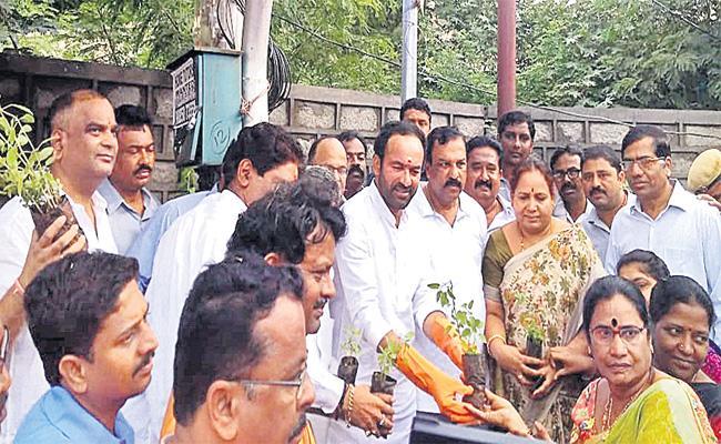 Haritha haram in Hyderabad - Sakshi