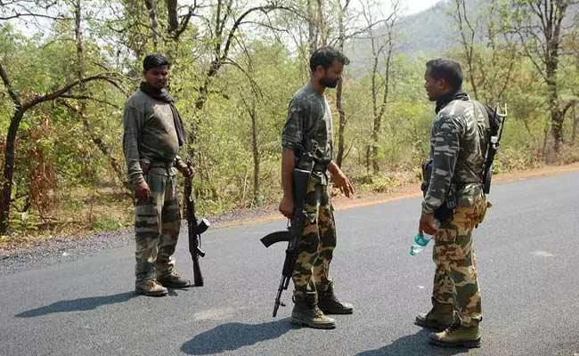 Encounter In Narayanpur Forest Area - Sakshi
