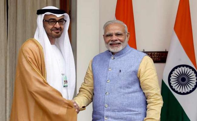 UAE Highest Civilian Award to PM Modi - Sakshi