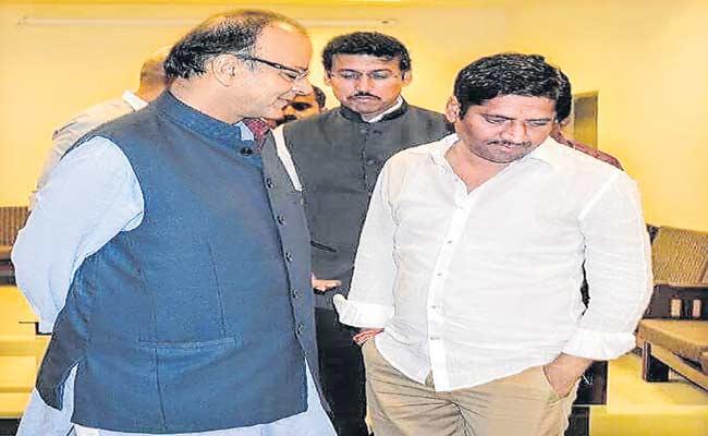 Purighalla Raghuram Article On Arun Jaitley - Sakshi