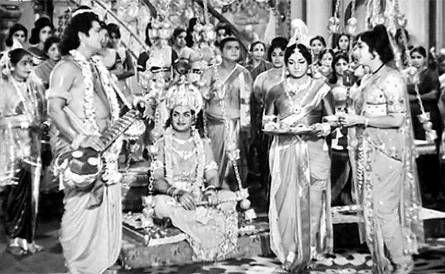 Sri Krishna Tulabharam Movie Story - Sakshi