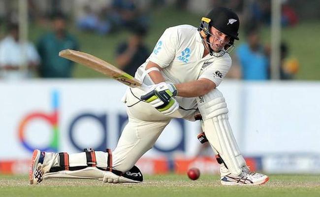 Latham Slams Big Century Against Srilanka - Sakshi