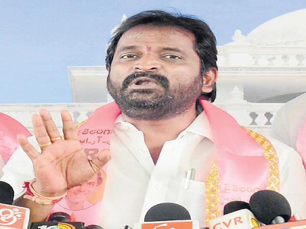 Srinivas Goud fires on BJP - Sakshi