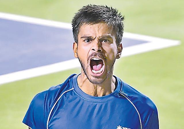 Sumit Nagal Qualifies For US Open Main Draw - Sakshi