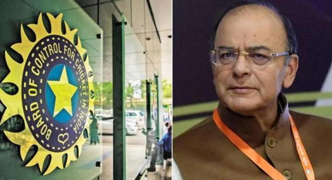 BCCI officials, cricketers pay tribute to Arun Jaitley - Sakshi