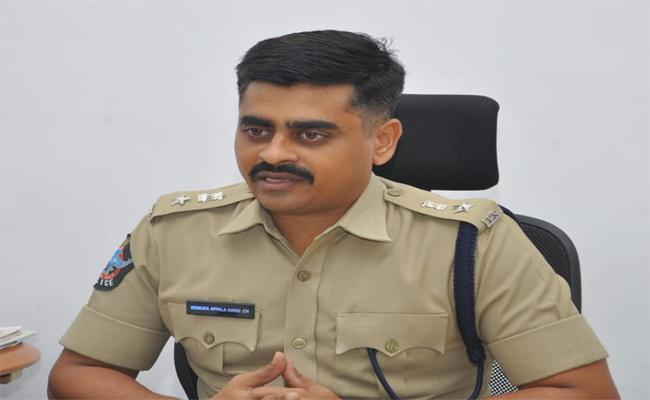 Chittoor SP Appalanaidu Has Made It Clear That The Replacement Of The Posts Of The Village And Ward Secretaries In The District Is Transparent - Sakshi