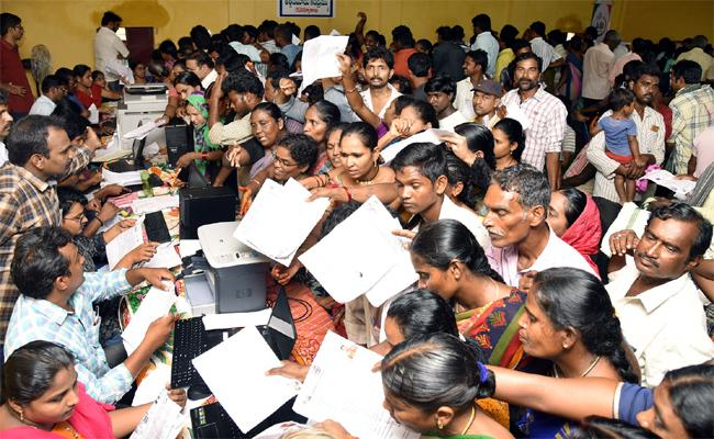 Grama Volunteer Survey On Government Lands In Krishna - Sakshi