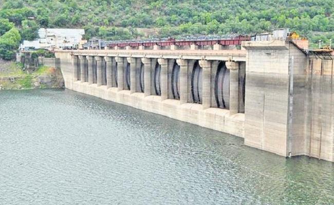 Reduced Flood to Srisailam Reservoir - Sakshi