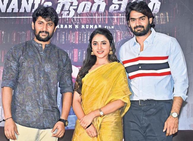 Nani new movie Gang Leader press meet - Sakshi