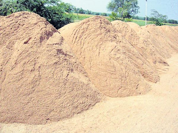 Sand Delivery to those who want it from next month - Sakshi