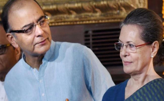 Arun Jaitley Last Gift To Sonia Gandhi Rae Bareli - Sakshi