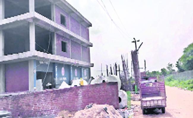 Land Occupation And Illegal Construction In Medak District - Sakshi