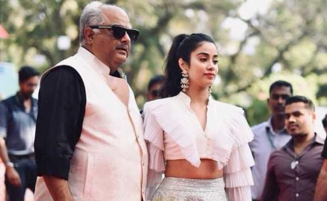 Boney Kapoor Says That Jhanvi Likes South Indian Movies - Sakshi