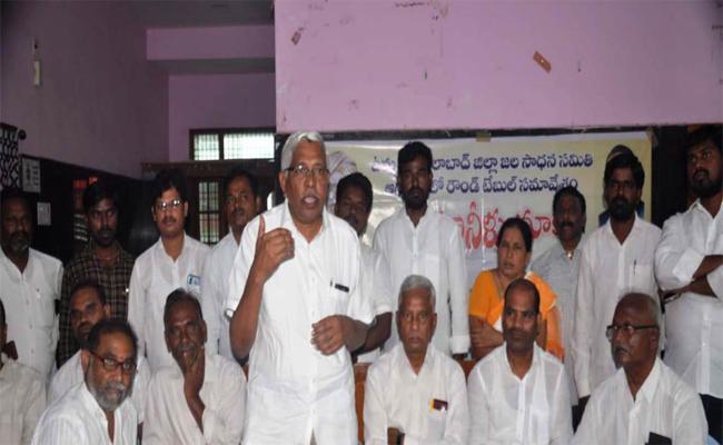 Kodandaram Demands For Project At Tummidihatti - Sakshi
