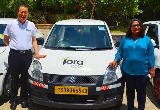 tora cabs launches in hyderabad - Sakshi