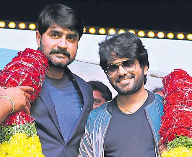 Marshal movie Audio launch by ysrcp mla Ambati Rambabu - Sakshi
