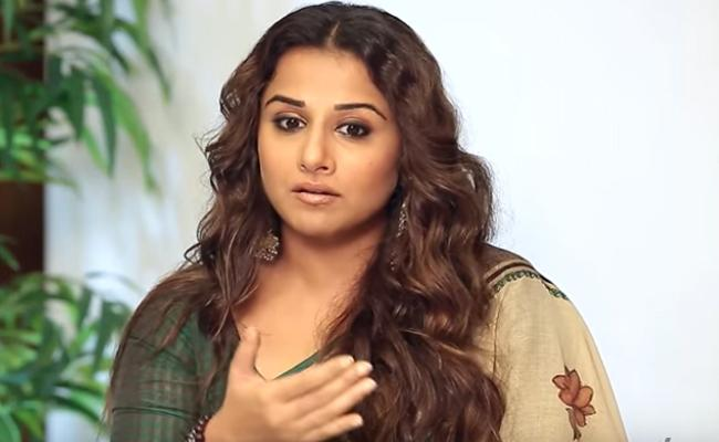 Vidya Balan Reveals The Time She Felt Ugly - Sakshi
