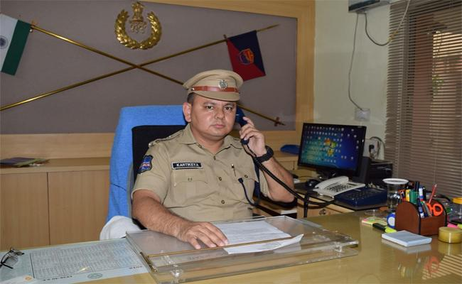 Nizamabad CP Karthikeya Says There Are No Terrorists In The District - Sakshi