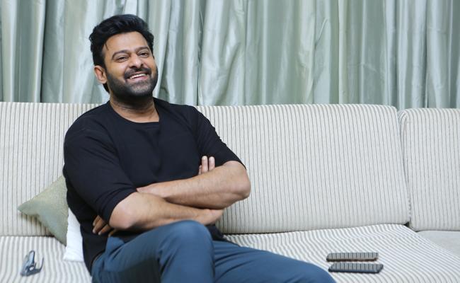 Prabhas Special Interview on Saaho Movie - Sakshi