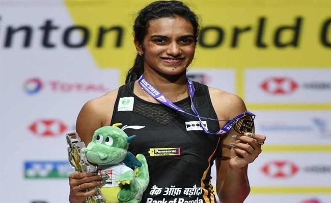 Editorial On World Badminton Champion PV Sindhu - Sakshi