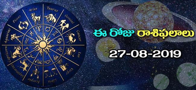 Daily Horoscope in Telugu (27-08-2019) - Sakshi