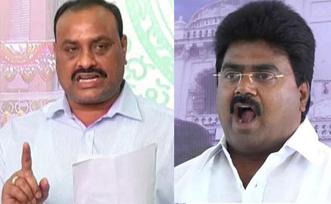 TDP Leaders Rowdyism On Government Employees - Sakshi