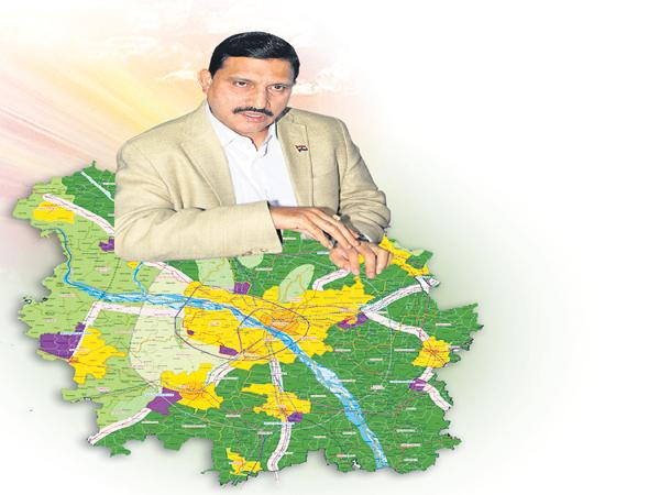 Sujana Chowdary looted Above 623 acres under CRDA - Sakshi