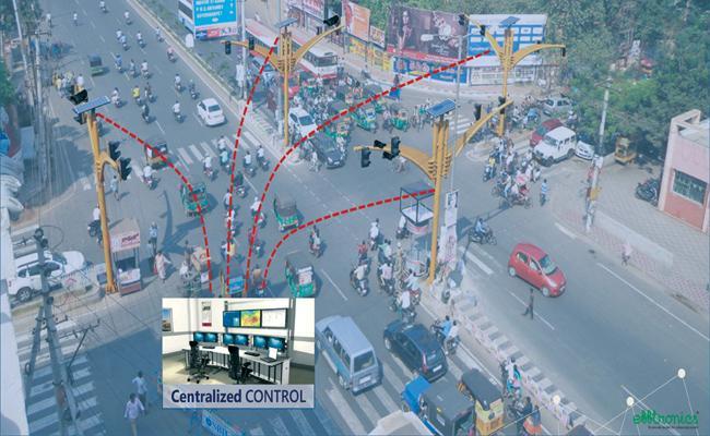 Introducing Adaptive Traffic Control System In Vijayawada Junctions - Sakshi