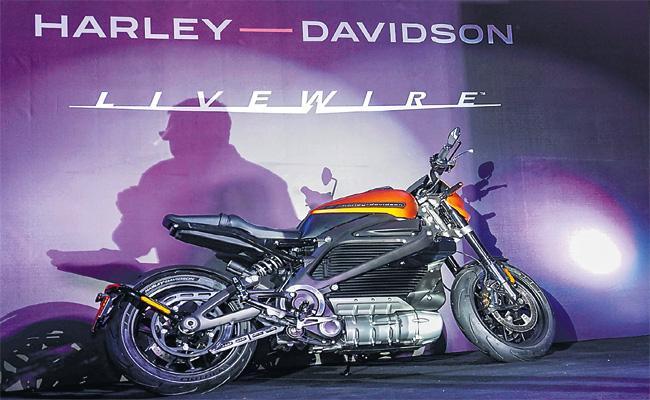 Harley Davidson Livewire Electric Bike launch - Sakshi