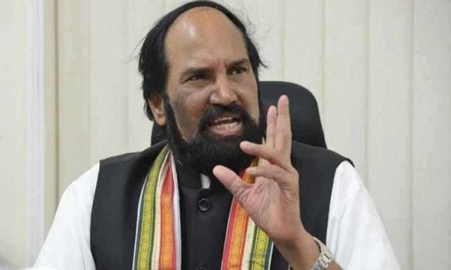 Uttam Kumar Reddy Fires On TRS Government Over Raithu Bandhu - Sakshi