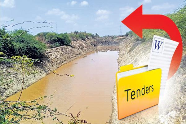 Reverse tendering in Galeru Nagari Sujala Sravanthi Project - Sakshi