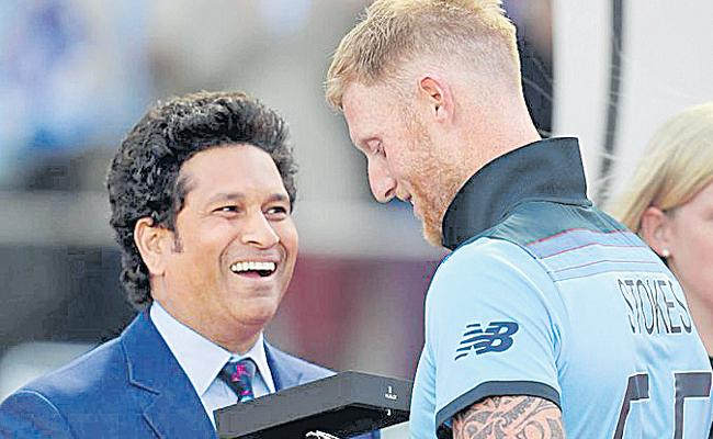 Sachin Fans Hits Out At ICC For Calling Stokes Greatest - Sakshi
