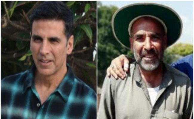 Twitter Thinks Akshay Kumar Look Like As Kashmir Old Man After His Old Age - Sakshi
